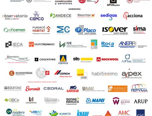 AMC se adhiere al acuerdo sobre el Plan de Recuperación del sector de la construcción