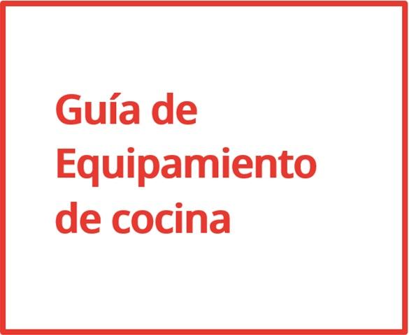 Guia de Equipamiento de Cocina - AMC - Asociación Mobiliario de Cocina